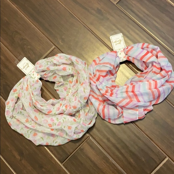 Target Accessories - Two Spring Infinity Scarves